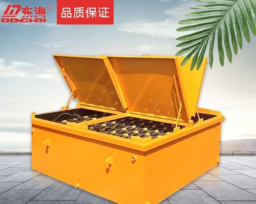 东海牌D-600 180V牵引机车电池组