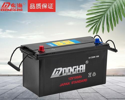 船舶起动用蓄电池
